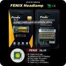 1PC FENIX HL10 CREE XP-E LED AAA Headlight Headlamp 70Lumens Flashlight