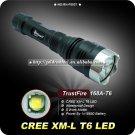 1PC TrustFire 168A 1000 Lumen Cree XM-L T6 LED Flashlight 5 Mode 18650 Aluminum Camping Hiking Torch