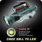 TrustFire X9 CREE XML XM-L T6 LED Flashlight Torch SET