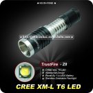 1PC TrustFire Z8 CREE XM-L XML T6 LED 1000Lm Zoomable Flashlight Torch