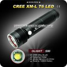 1SET Flashlight OLIGHT S80 Cree XML T6 LED Waterproof Camping Hiking torch