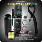 1PC Olight S15 Baton Cree XM-L2 LED Flashlight 280 Lumens EDC Waterproof Magnet Flashlight