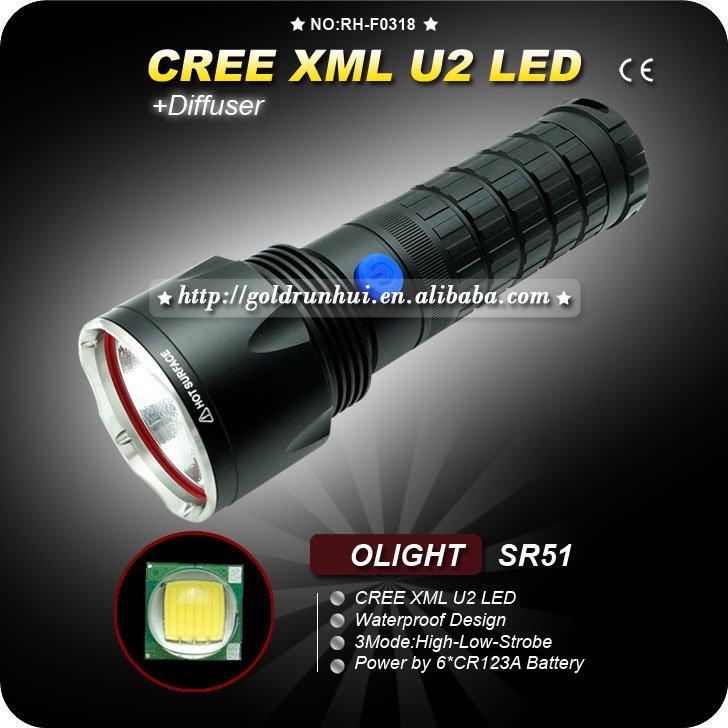 U2 LED Waterproof Outdoor Torch Light