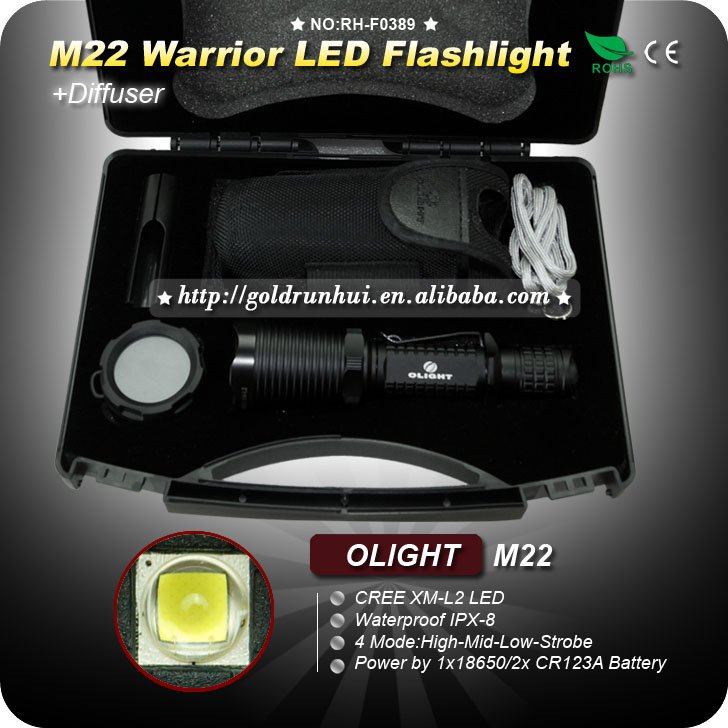 Flashlight LED CREE L2 LED Torch Waterproof Tactical Flashlight