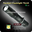 1PC KLARUS XT2C Tactical Flashlight 4 Mode CREE XML T6 LED Flashlight 1*18650