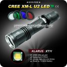 1PC XT11 Cree XM-L U2 4-Mode LED Professional Explorer Hunting Tactical Flashlight