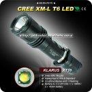 1PC KLARUS XT10 Tactical Flashlight 4 Mode CREE XM-L XML T6 LED Flashlight