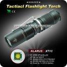 1PC KLARUS XT1C Flashlight Cree XP-G R5 LED 245LM 4 Mode By 1 x CR123A Battery Waterproof