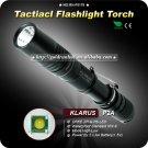 c1PC KLARUS P2A Flashlight Cree XP-G R5 LED 245LM 2 Mode 2 x AA Battery Waterproof