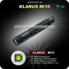 1PC KLARUS Mi10 Flashlight 4 Mode CREE XP-G R5 LED Flashlight 1xAAA Battery Hiking