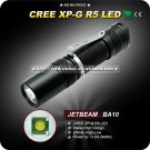 1PC JETBEAM BA10 Flashlight Aluminum Waterproof to IPX-8 2 Mode CREE XP-G R5 LED Flashlight