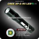 1PC Flashlight Jetbeam BC20 2 Mode CREE XPG R5 Waterproof LED Flashlight