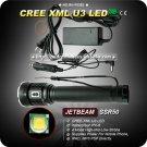 JETBeam SSR50 Multifunctional Flashlight 4 Mode 1000 Lumens CREE XML U3 LED