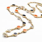 Summer holiday gifts stylish simplicity wild small pendant necklace sweater chain -sp018