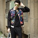 Cool holiday gift nightclub Slim casual fashion autumn jacket male students NY002