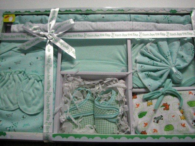 Newborn Gift Set (green)
