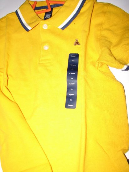 Gap Polo Shirt (Yellow)