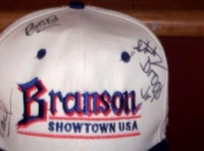 Baldknobbers Autograph Branson MO Cap Hat