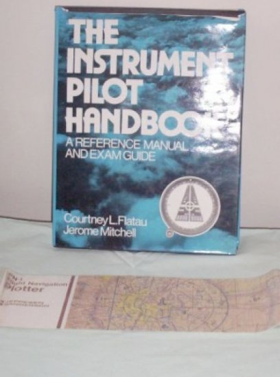 Hardcover Instrument Airline Pilot Handbook Manual Book Exam Guide Flatau 1980 DJ