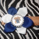 Sporty Bottlecap Bowtie NCAA University of Kentucky UK Wildcats Logo Hair Bow ~ Free Shipping