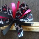 Cheer-riffic Pom Pom Magenta Pink Cheetah Animal Print 4 inch Hair Bow~Free Shipping