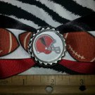 Sporty Bottlecap Bowtie NFL Football Atlanta Falcons Hair Bow ~ Free Shipping