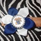 Sporty Bottlecap Flower NCAA University of Kentucky UK Wildcats Hair Bow ~ Free Shipping