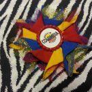 Bottlecap Flower FIFA World Cup Colombia Hair Bow ~ Free Shipping