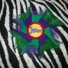 Bottlecap Flower The Joker Hair Bow ~ Free Shipping