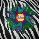 Bottlecap Flower The Joker Hair Bow ~ Free Shipping