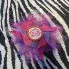 Bottlecap Flower My Little Pony Hair Bow ~ Free Shipping