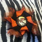 Bottlecap Flower The Walking Dead Daryl Crossbow Fear Hair Bow ~ Free Shipping