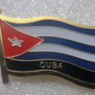 CUBA Metal Brass Alloy Lapel Pin Country Flag Logo Soft Enamel Emblem Badge Button