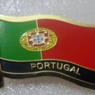 PORTUGAL Metal Brass Alloy Lapel Pin Country Flag Logo Soft Enamel Emblem Badge Button