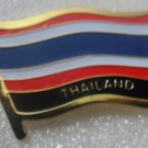 THAILAND Metal Brass Alloy Lapel Pin Country Flag Logo Soft Enamel Emblem Badge Button