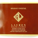Ralph Lauren Holiday Cocktail Scented Luxury Soaps