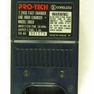 Pro-Tech Model: 0800 Cordless 7.2VDC One Hour Fast Charger