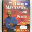 The Secrets to Manifesting Your Destiny (Dr. Wayne W. Dyer) CASSETTE Nightingale