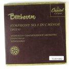 "Capitol Telefunken  7"" 45 RPM Beethoven Symphony No. 5 In C Minor Opus 07"