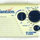 Jantzen AM FM All Weather IC Radio Model 398