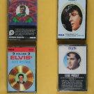 Elvis Cassettes (4) - Elvis Christmas Album - Elvis Volume 2 - Elvis Volume 3 -