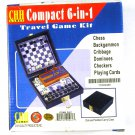 Boeing CHH Games Compact 6-in-1 Travel Game Kit