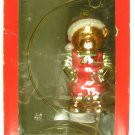 American Greetings Teddy Bear Glass Ornament with Stand