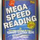 Mega Speed Reading (Howard Stephen Berg) CASSETTE VHS