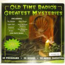 Old Time Radio's Greatest Mysteries - 60 Programs - 30 Hours