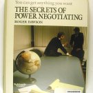 The Secrets Of Power Negotiating (Roger Dawson) CASSETTE Nightingale Conant