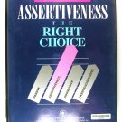 Assertiveness The Right Choice CASSETTE
