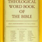 A Theological Word Book Of The Bible (Alan Richardson,D.D., Canon of Durham) Boo