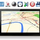 7 TFT LCD Screen 4G Windows CE 6.0 GPS Navigator with Europe Map, FM (Black)