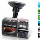 Rotatable 720P Drive Recorder with 32GB TF Card (Black)